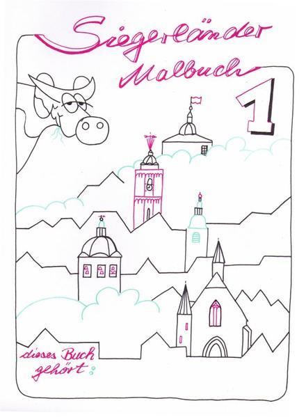 Siegerländer Malbuch - Coverbild
