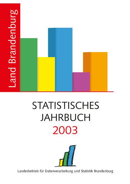 Statistisches Jahrbuch Brandenburg / Statistisches Jahrbuch Brandenburg 2003 - Coverbild
