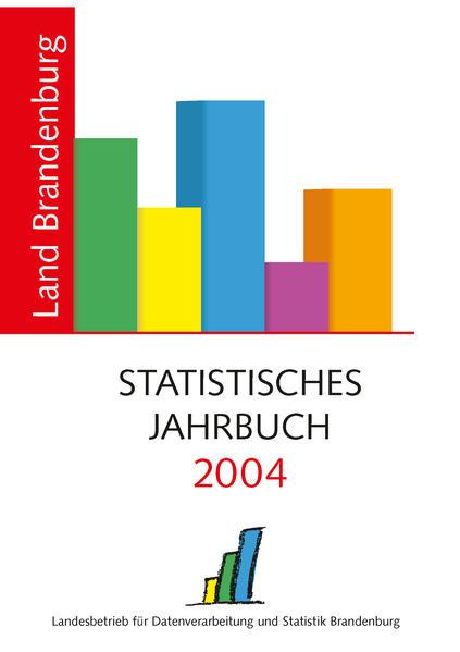 Statistisches Jahrbuch Brandenburg / Statistisches Jahrbuch Brandenburg 2004 - Coverbild
