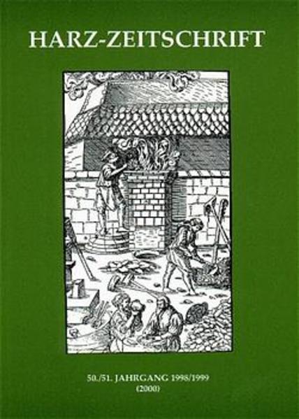 Harz-Zeitschrift für den Harz-Verein für Geschichte und Altertumskunde / Harz-Zeitschrift für den Harz-Verein für Geschichte und Altertumskunde - Coverbild