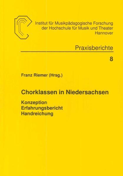 Chorklassen in Niedersachsen - Coverbild
