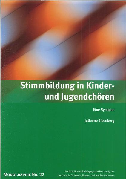 Stimmbildung in Kinder- und Jugendchören - Coverbild