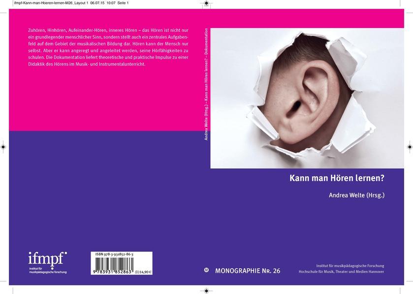 Kann man Hören lernen? - Coverbild