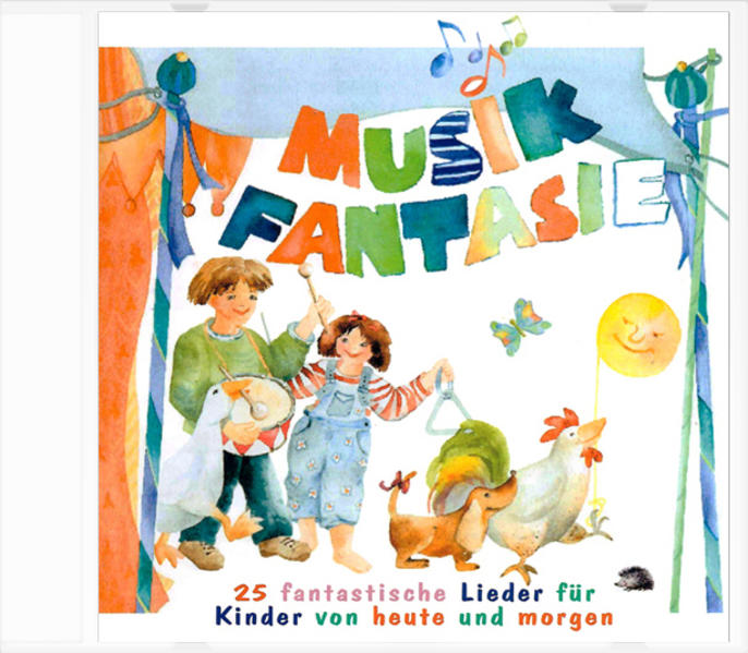 Musik Fantasie - Lieder-CD - Coverbild
