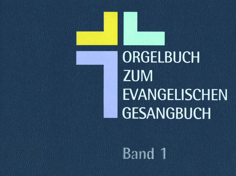 Orgelbuch zum Evangelischen Gesangbuch - Coverbild