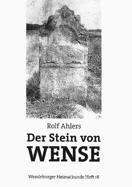 Der Stein von Wense - Coverbild