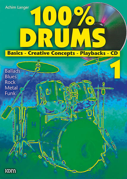 100% Drums / 100% Drums Band 1 - Coverbild