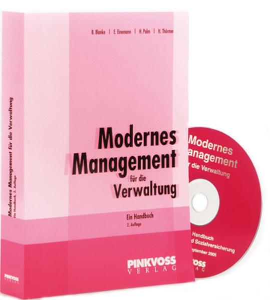 Modernes Management für die Verwaltung - Coverbild