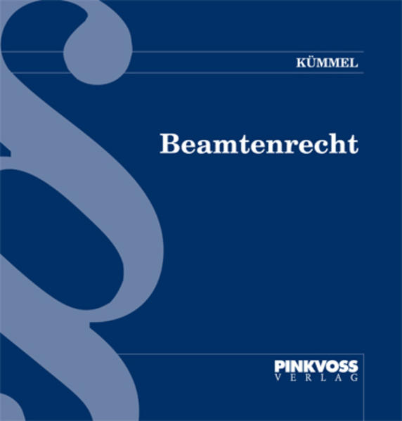 Beamtenrecht - Coverbild