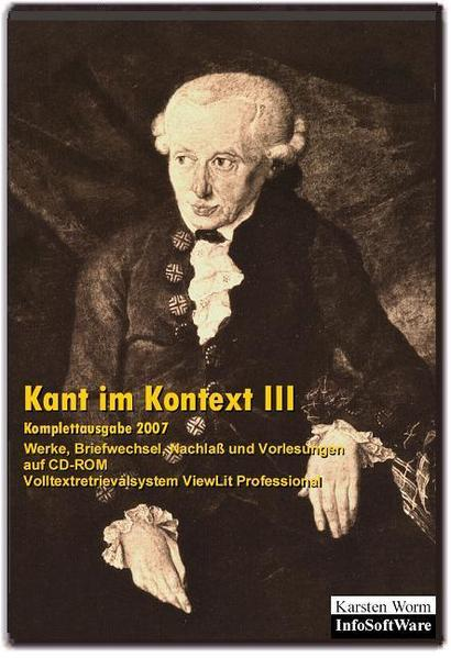 Kant im Kontext III - Coverbild