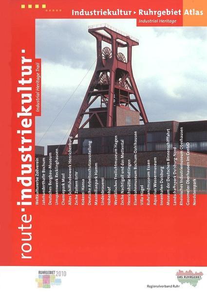 Atlas Route Industriekultur, Ruhrgebiet - Coverbild