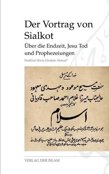 Der Vortrag von Sialkot PDF Herunterladen
