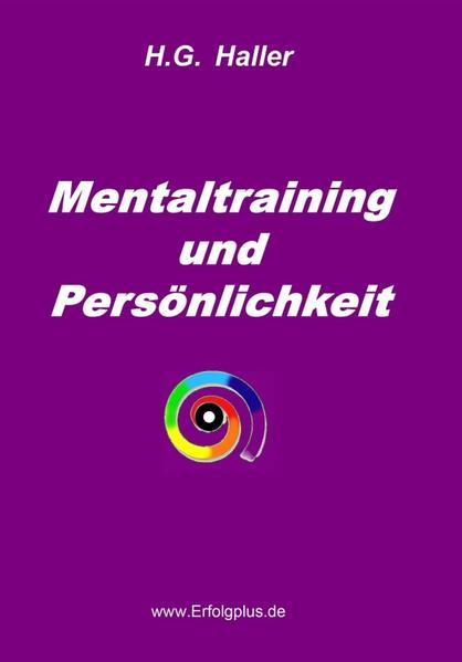 Mentaltraining und Persönlichkeit - Coverbild