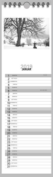 Streifenkalender Fotokalender und Bastelkalender  2016 - Coverbild