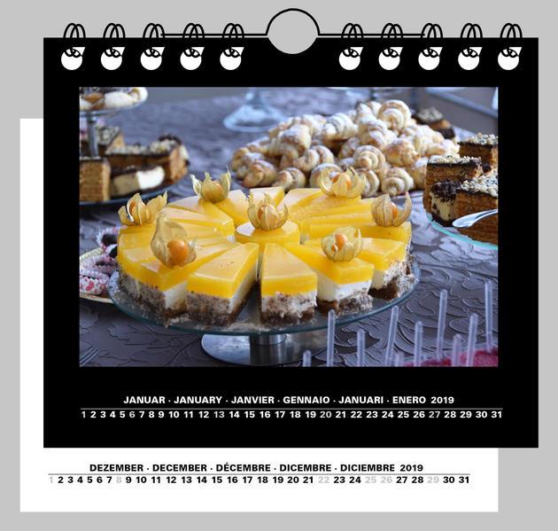 Fotokalender und Bastelkalender 2016 Tischkalender und Wandkalender für 10x13 cm und 9x13 cm Bilder Quer - Coverbild