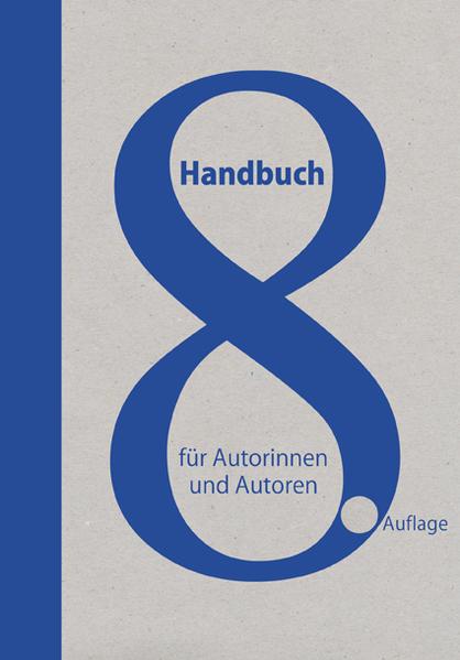 Handbuch für Autorinnen und Autoren - Coverbild