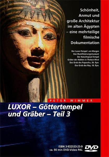 Ägypten - LUXOR – Göttertempel und Gräber / Ägypten - LUXOR – Göttertempel und Gräber - Coverbild