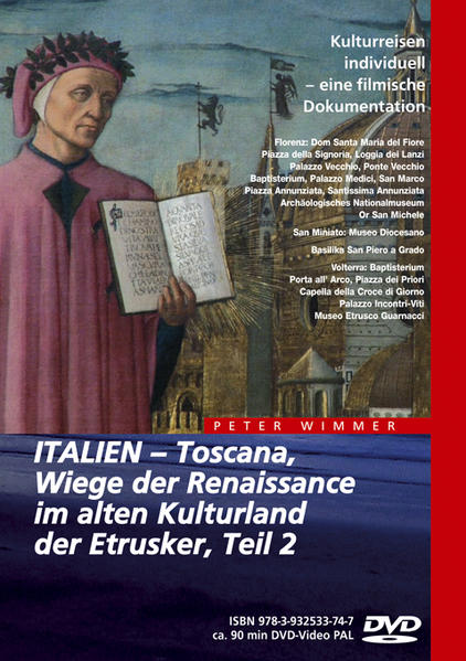 ITALIEN – Toscana, Wiege der Renaissance im alten Kulturland der Etrusker, Teil 2 - Coverbild