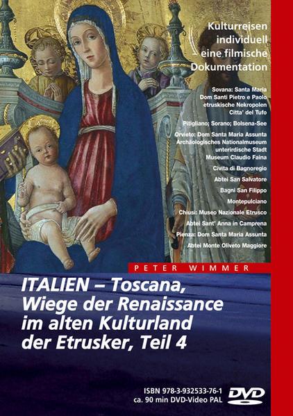 ITALIEN – Toscana, Wiege der Renaissance im alten Kulturland der Etrusker, Teil 4 - Coverbild