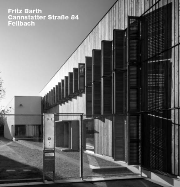 Fritz Barth, Cannstatter Straße 84, Fellbach - Coverbild
