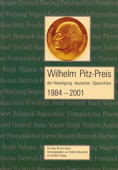 Wilhelm-Pitz-Preis 1984-2001 - Coverbild