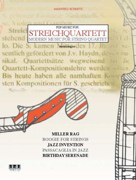 Pop Music für Streichquartett /Pop Music for String Quartet - Coverbild