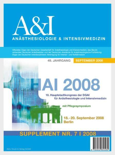 HAI Abstractband 2008 - Coverbild