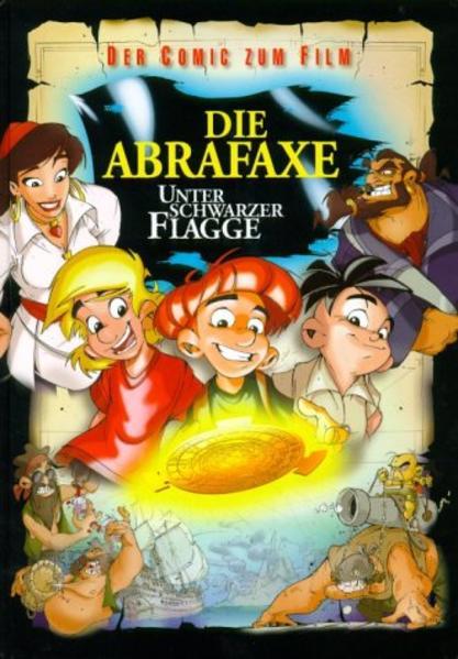 Die Abrafaxe - Unter schwarzer Flagge - Coverbild