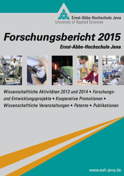 Forschungsbericht 2015 der Ernst-Abbe-Hochschule Jena - Coverbild