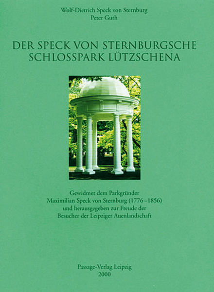 Der Speck von Sternburgsche Schlosspark Lützschena - Coverbild