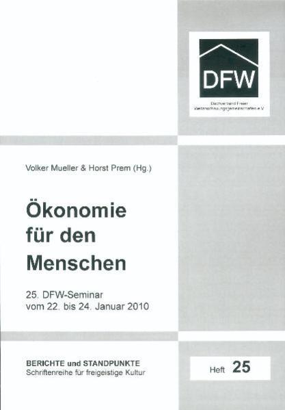 Ökonomie für den Menschen - Coverbild