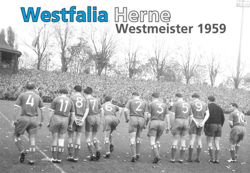 Westfalia Herne - Westmeister 1959 - Coverbild