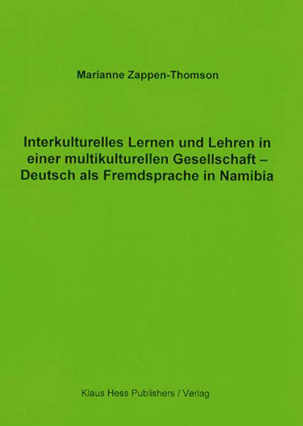 Interkulturelles Lernen und Lehren in einer multikulturellen Gesellschaft - Coverbild