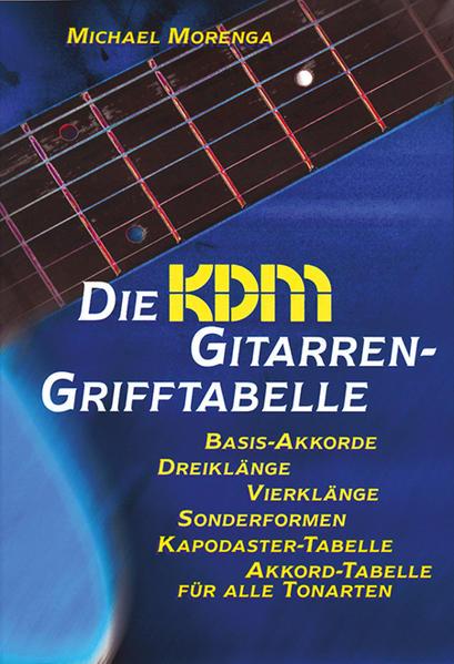 Die KDM Gitarren-Grifftabelle - Coverbild