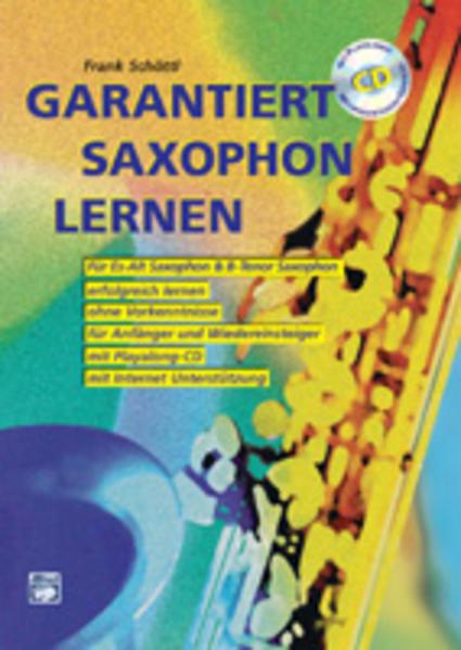 Garantiert Saxophon Lernen - Coverbild