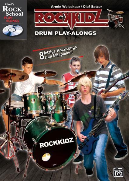 Rockkidz Play-alongs / Rockkidz Drum Play-alongs - Coverbild
