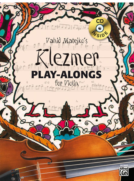 Klezmer Play-alongs / Vahid Matejko's Klezmer Play-Alongs for Violin - Coverbild