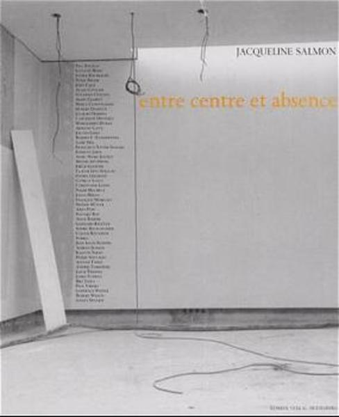 entre centre et absence - Coverbild