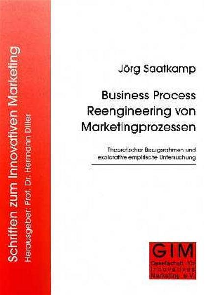 Business Process Reengineering von Marketingprozessen - Coverbild