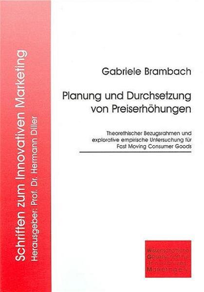 Planung und Durchsetzung von Preiserhöhungen - Coverbild
