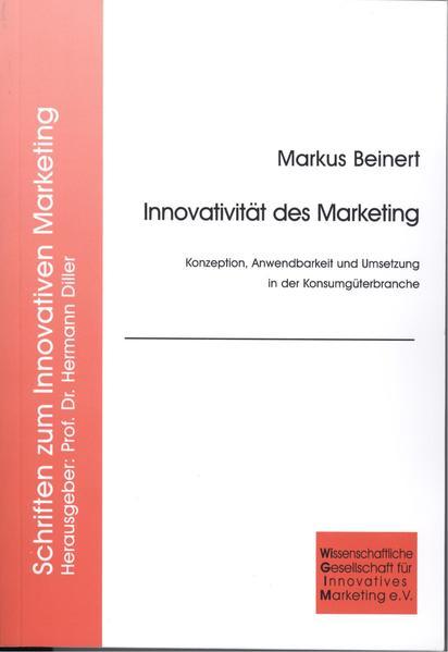 Innovativität des Marketing - Coverbild