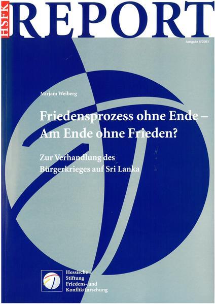 Friedensprozess ohne Ende - Am Ende ohne Frieden? - Coverbild