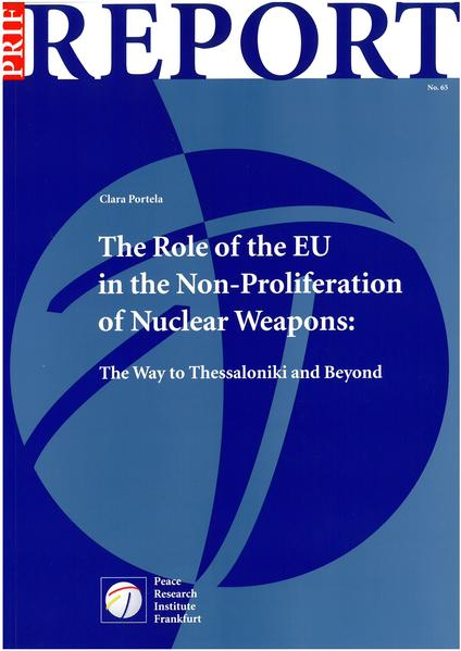 The Role of the EU in the Non-Proliferation of Nuclear Weapons - Coverbild