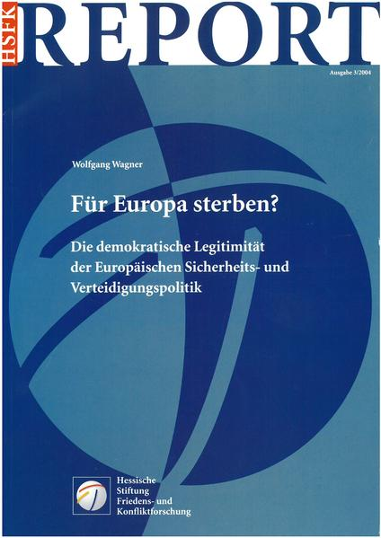 Für Europa sterben? - Coverbild