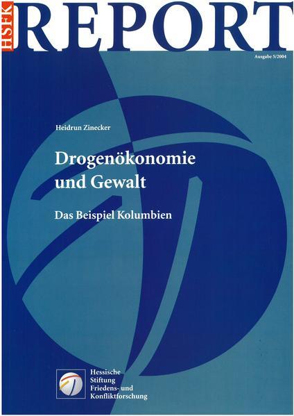 Drogenökonomie und Gewalt - Coverbild