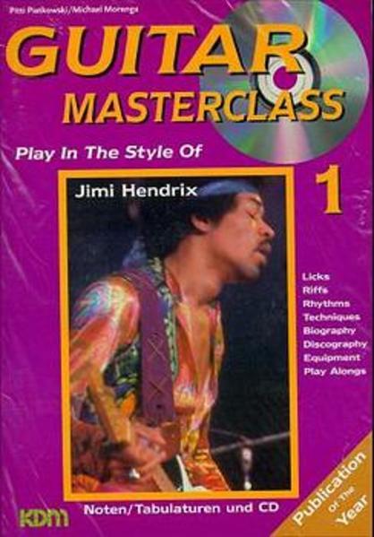 Guitar Masterclass / Guitar Masterclass Band 1 - Coverbild