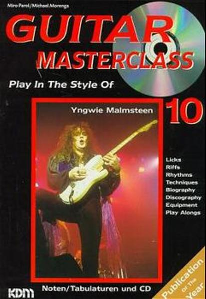 Guitar Masterclass / Guitar Masterclass Band 10 - Coverbild