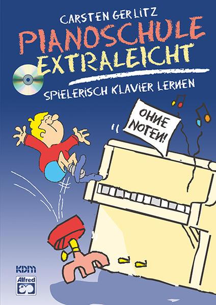 Pianoschule Extraleicht - Coverbild
