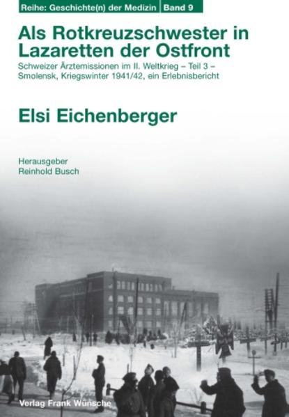Als Rotkreuzschwester in Lazaretten der Ostfront - Coverbild