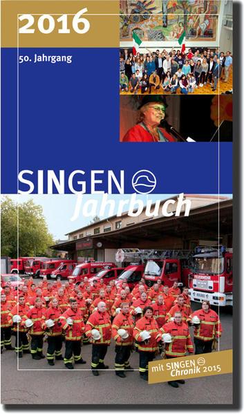 SINGEN Jahrbuch 2016 - Coverbild